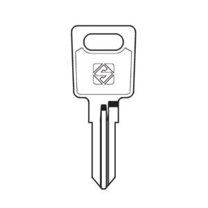 Ronis sleutels op code CC